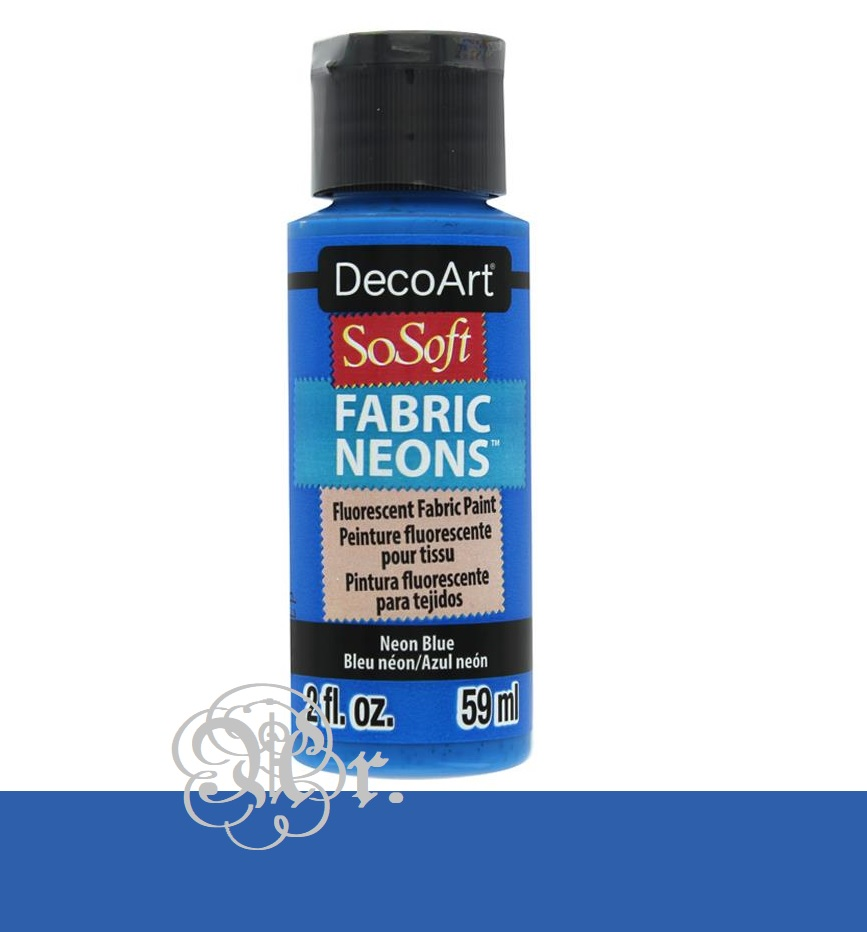 So-Soft 59 Ml. Dss062 Azul Neon